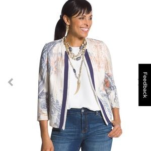 NWT Chico's jacket fits size L